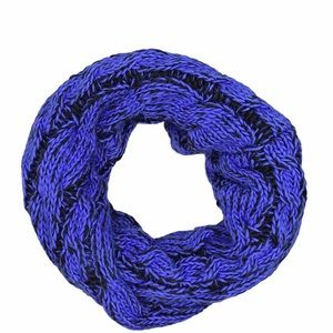 Zella Infinity Blue and Black Scarf